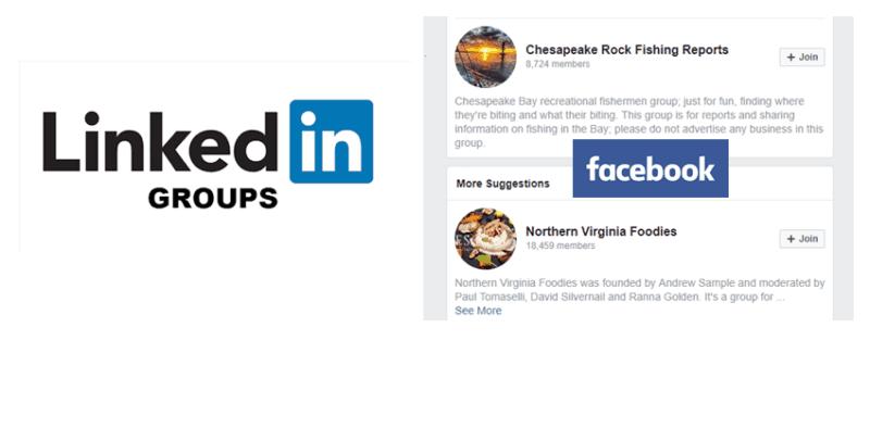 依你所屬的產業別,加入Facebook和LinkedIn上的重要社團,了解消費者、業界專家或意見領袖對特定主題的想法,從而找出內容主題的方向。